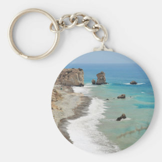 Rock Of Aphrodite, Cyprus Key Ring