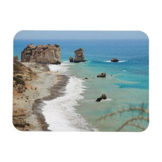 Rock Of Aphrodite, Cyprus Magnet