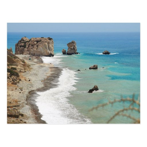 Rock Of Aphrodite, Cyprus Post Cards