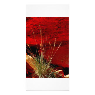 Rock of Fire Photo Greeting Card