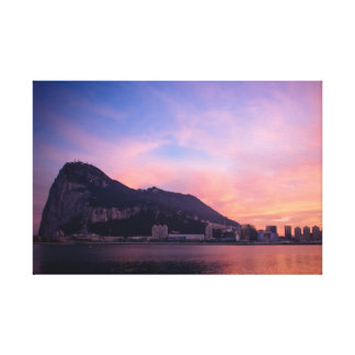 Rock of Gibraltar Canvas Print
