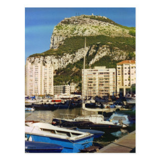 Rock of Gibraltar Postcard