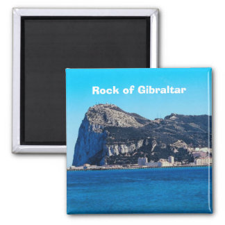 Rock of Gibraltar Travel Photo Souvenir Magnet
