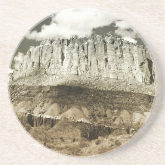 Rock of My Life Drink Coaster