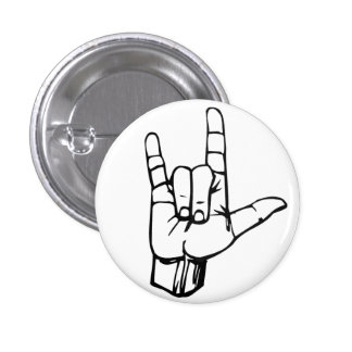 Rock On! 3 Cm Round Badge