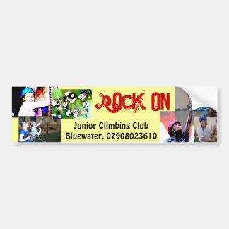 Rock On! Bumper Sticker