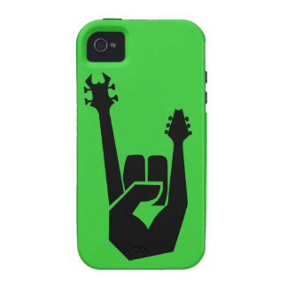 Rock on vibe iPhone 4 covers