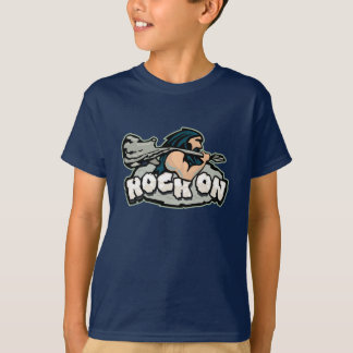 Rock On Caveman T-Shirt