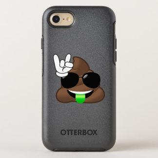 Rock On Cool Poop Emoji iPhone Case