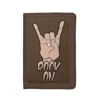 ROCK ON custom color wallets