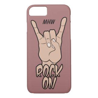 ROCK ON custom monogram & color phone cases