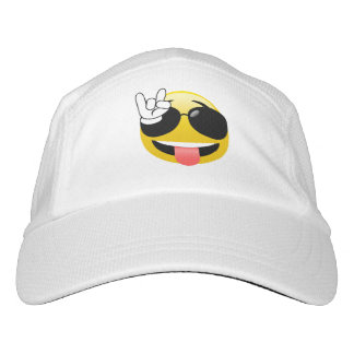 Rock On Fun Emoji Hat