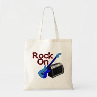 Rock On Guitar & Amp Tote Bag