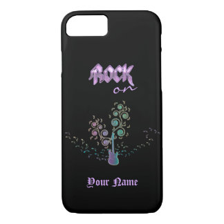Rock On - Guitar Personalized Music iPhone 7 Case