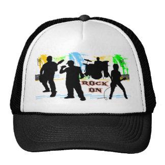 Rock On - Rock n' Roll Band Hat