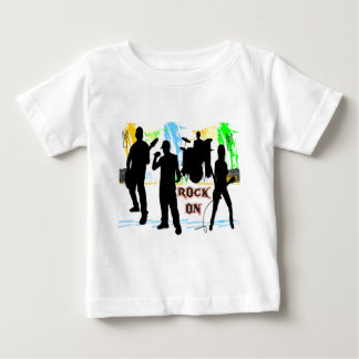 Rock On - Rock n' Roll Band T-shirts