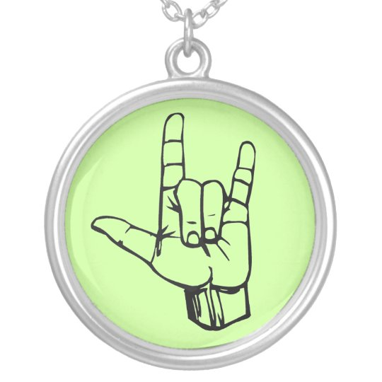Rock On! Silver Plated Necklace