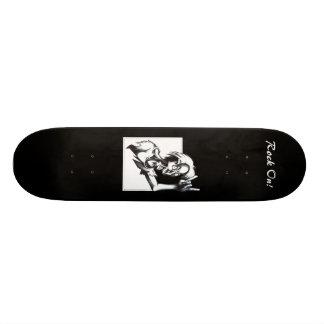 Rock On! Custom Skateboard