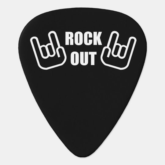 Rock Out Guitar Pick