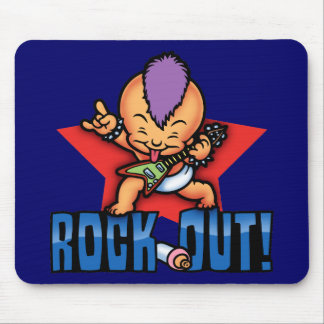 Rock Out! Mouse Pad