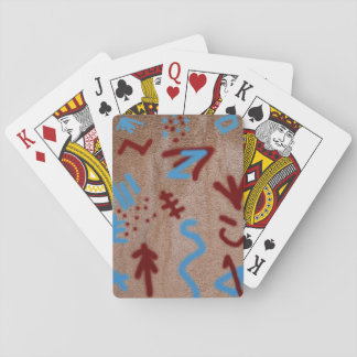 Rock Paint Art Playing Cards