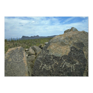 Rock Painting 13 Cm X 18 Cm Invitation Card