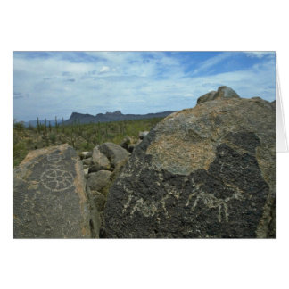 Rock Painting Greeting Card