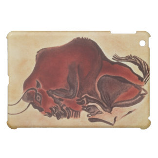 Rock painting of a bison, late Magdalenian iPad Mini Covers