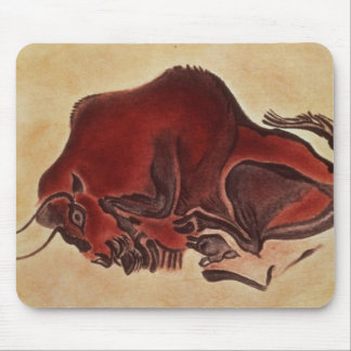 Rock painting of a bison, late Magdalenian Mouse Pad