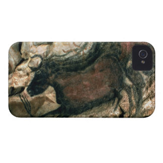 Rock painting of a black bull, c.17000 BC (cave pa iPhone 4 Case-Mate Cases