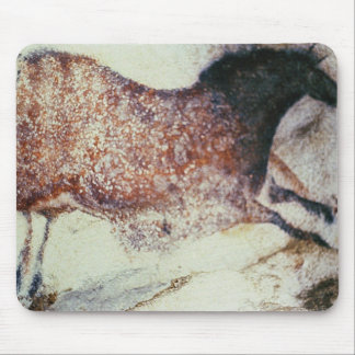 Rock painting of a galloping horse, c.17000 BC Mouse Pad