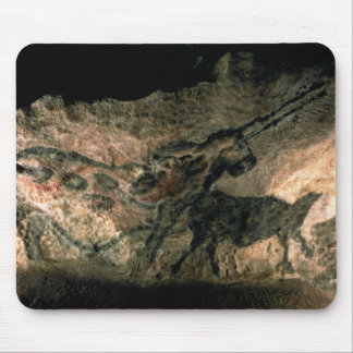 Rock painting of a horned animal, c.17000 BC (cave Mouse Pad