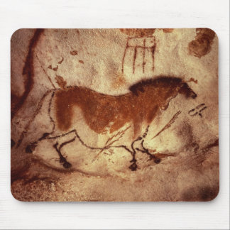 Rock painting of a horse, c.17000 BC Mouse Pad