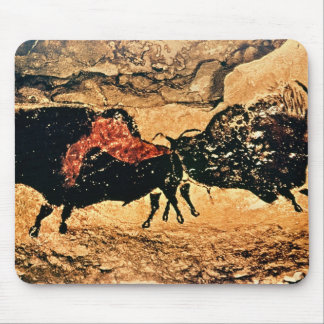 Rock painting of bison, c.17000 BC Mouse Mat