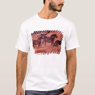 Rock painting of tarpans , c.17000 BC T-Shirt