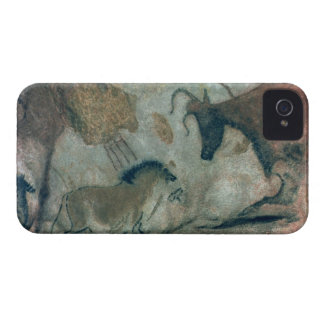 Rock painting showing a horse and a cow, c.17000 B iPhone 4 Covers