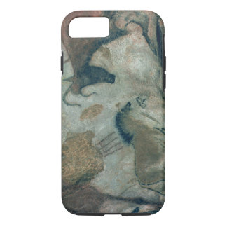 Rock painting showing a horse and a cow, c.17000 B iPhone 8/7 Case