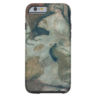 Rock painting showing a horse and a cow, c.17000 B Tough iPhone 6 Case