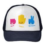 Rock, Paper, Scissors Game Hat