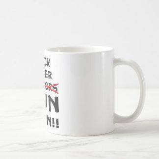 Rock Paper Scissors Gun I Win Coffee Mug