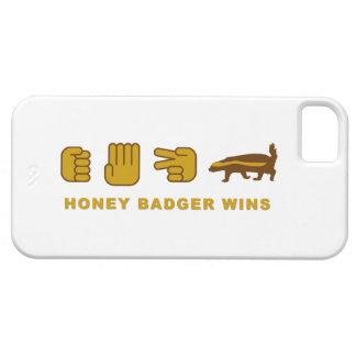 rock paper scissors honey badger wins iphone5 case