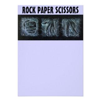 Rock Paper Scissors Invitations
