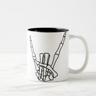 Rock, peace mug