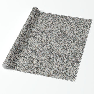 Rock Pebble Wrapping Paper