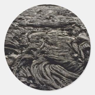 Rock Phoenix Round Sticker