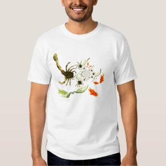 Rock Pool crabs and fish fun Tee Shirts