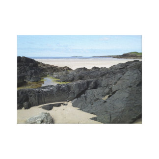 Rock Pool in Donegal Ireland Canvas Print