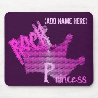 Rock Princess - Personalised Mousepad