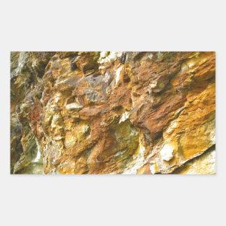rock rectangular sticker