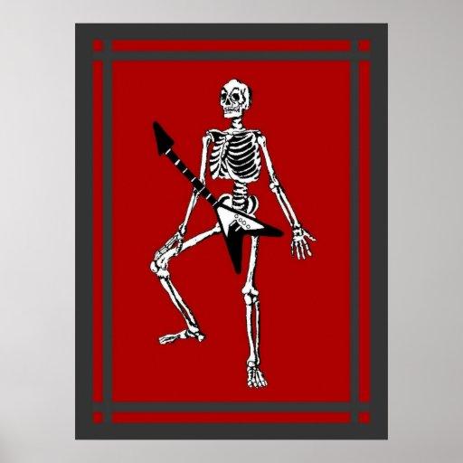 Rock & Roll In My Bones Poster